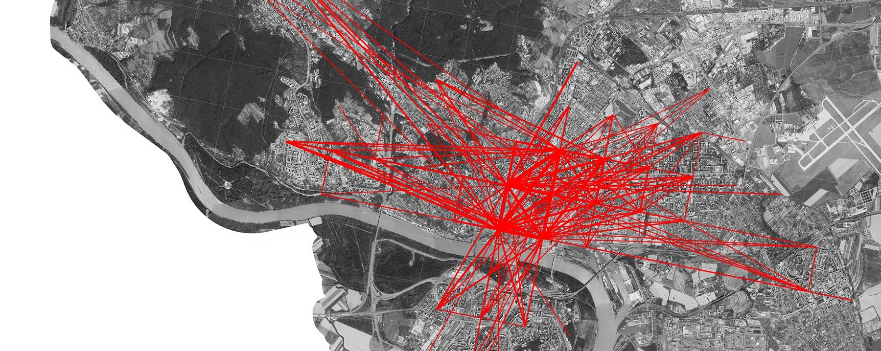 Mapa mobility v Bratislave